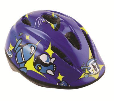 Oxford Little Rocket Junior Boys Bike Cycle Bicycle Helmet Blue 590-ROCKETM