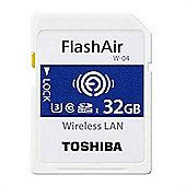 Toshiba FlashAir W-04 32GB SDHC UHS-I Class 3 memory card