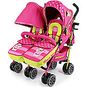 iSafe Twin OPTIMUM Stroller (Mea Lux)