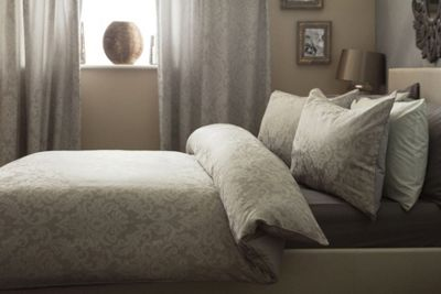 Belledorm Bromley Natural Duvet Cover Set - King
