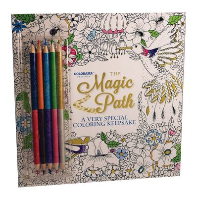 JML Colorama Colouring Books For Adult with Mystical & Magical Designs