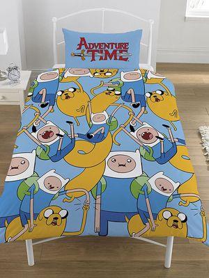 Adventure Time Single Reversible Duvet Cover Set