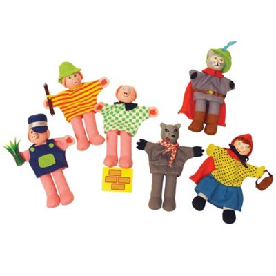 Bigjigs Toys Red Riding Hood Finger Puppets