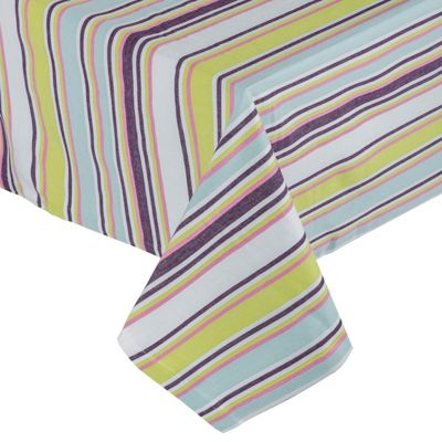 Homescapes Osaka Green Tablecloth, 54 x 70 Inches