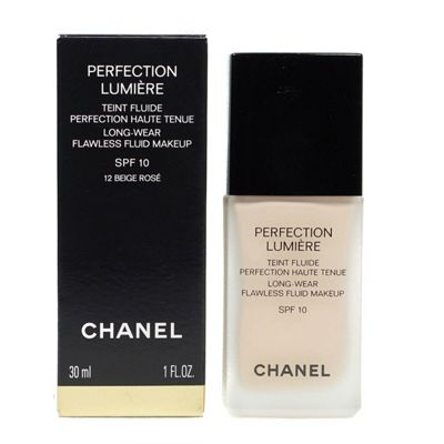 Chanel Perfection Lumiere SPF10 Foundation 12 Beige Rose 30ml