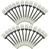 Tondo Stainless Steel 18/0 Dinner Forks - Set of 24