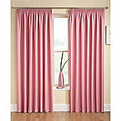 Enhanced Living Tranquility Pink Pencil Pleat Curtains - 90x54 Inches (229x137cm)