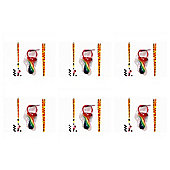 Pack Of 6 Rock Dummies With Worlds Best Mum Lanyards