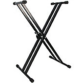 Rocket Double Braced Heavy Duty Keyboard Stand