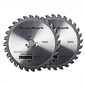 JML Dual Saw Accessory: Universal Tungsten Blades (2 Pack) For Wood/Plastic/Metal