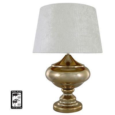 Arabian Nights Oval Table Lamp