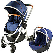 Red Kite Push Me Fusion Pushchair, Navy