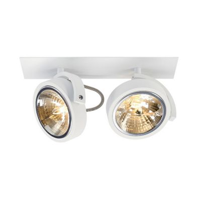 Kalu Recessed Light Matte White Downlight Max. 2X 50W