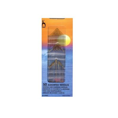 Pony Assorted Hand Sewing Needles 50 pack