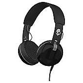 Skullcandy Grind On Ear Headphones with TapTech Black and Grey