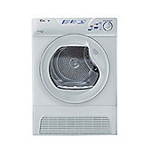 Candy Condenser Tumble Dryer, GCC581NB, 8kg load - White