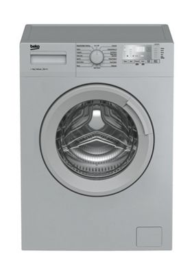 Beko Washing Machine, WTG721M1S, 1200 rpm, 7KG Load - Silver