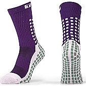 Trusox Mid-Calf Sock Thin - Purple