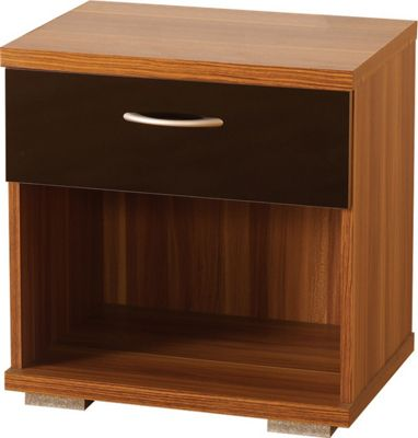 Home Essence Shearwater 1 Drawer Bedside Table