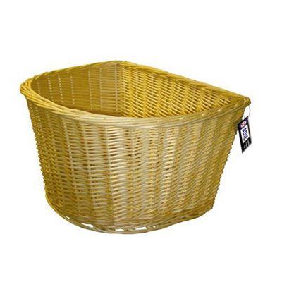 Adie 16' D Shape Wicker Basket