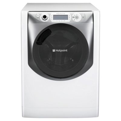 Hotpoint AQD1170F697E Washer Dryer, 11kg Load, 1600 RPM Spin, A Energy Rating, White