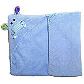 Henry the Hippo Hooded Towel - Zoocchini