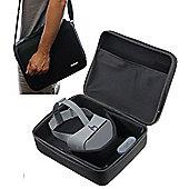Navitech Black Hard Case Shoulder Bag for the Google DayDream 2 and Controller