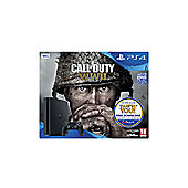 PlayStation 4 500Gb Call of Duty: WWII black console