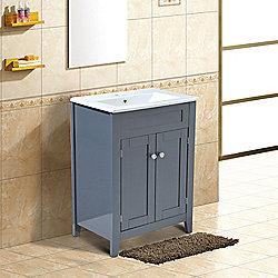 Superb Homcom Under Sink Bathroom Storage Cabinet Vanity Unit Home Interior And Landscaping Pimpapssignezvosmurscom