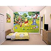 Walltastic Disney Winnie The Pooh Wall Mural 8 ft x 10 ft