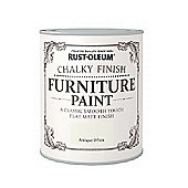 Rust-Oleum Chalky Furniture Paint - Antique White - 750ML