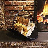 a'la Maison Fireside Fireplace Log Holder Firewood Rack