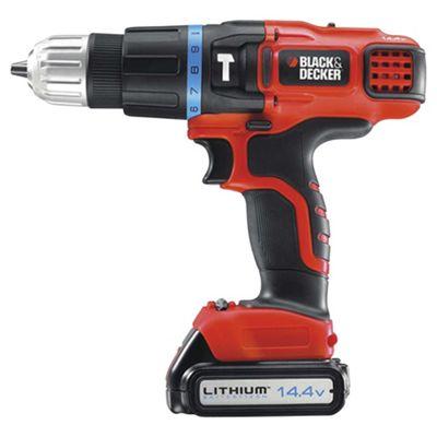 BLACK+DECKER 14.4V Lithium 2 Gear Hammer Drill EGBL148K