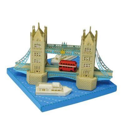 Tower Bridge Paper Building Sets - Construction