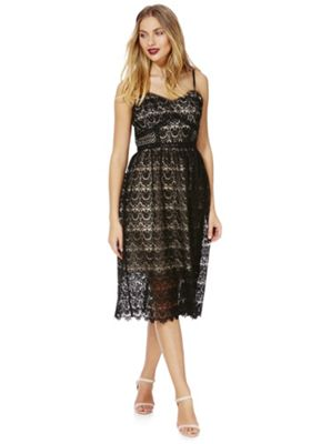 Tesco f f lace dress looks