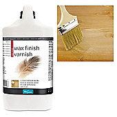 Polyvine Wax Finish Varnish - Satin - 4 Litre