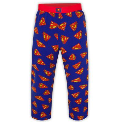 DC Comics Superman Mens Lounge Pants Small