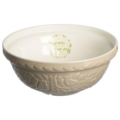 Mason Cash In the Forest Owl Grey Mixing Bowl, 26cm