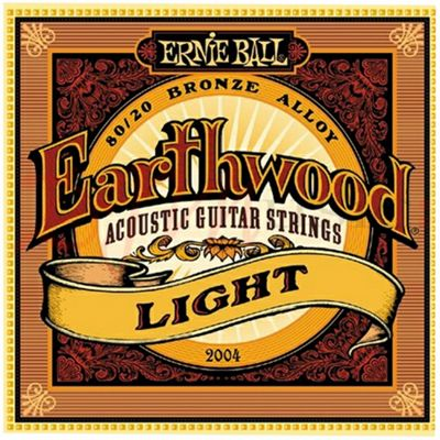 Ernie Ball Earthwood 80/20 strings String Gauge-Light 11-52
