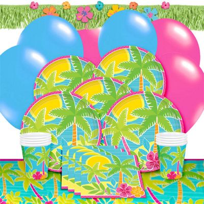 Summer Scene Deluxe Party Pack for 8
