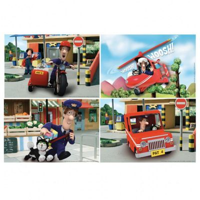 Party Favor - Postman Pat - 4 Jigsaw Puzzles - Amscan