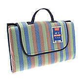 Country Club Picnic Blanket 150x200cm Stripes