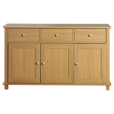 Milton Large Sideboard, Oak Effect