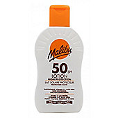 Malibu Sun Lotion SPF50 High Protection 200ml