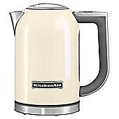 KitchenAid 5KEK1722BAC 3Kw 1.7 Litre Jug Kettle with Keep Warm Function in Cream