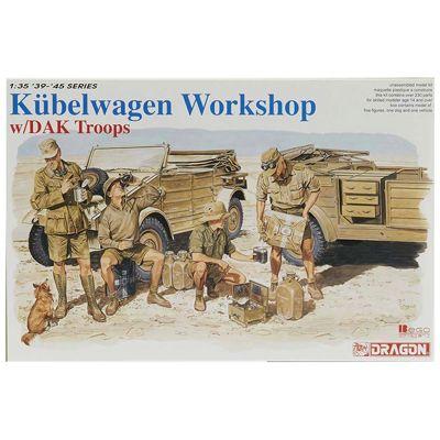 DRAGON 6338 Kubelwagen Workshop 1:35 Military Model Kit