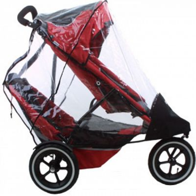 Buy Phil Teds Sport Classic Double Buggy Raincover From Our Rain