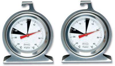 Brannan Premium Dial Fridge Freezer Thermometer Pack of 2 22/402