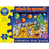 Whos In Space Puzzle