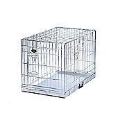 Dog Cage Puppy Crate - Silver
